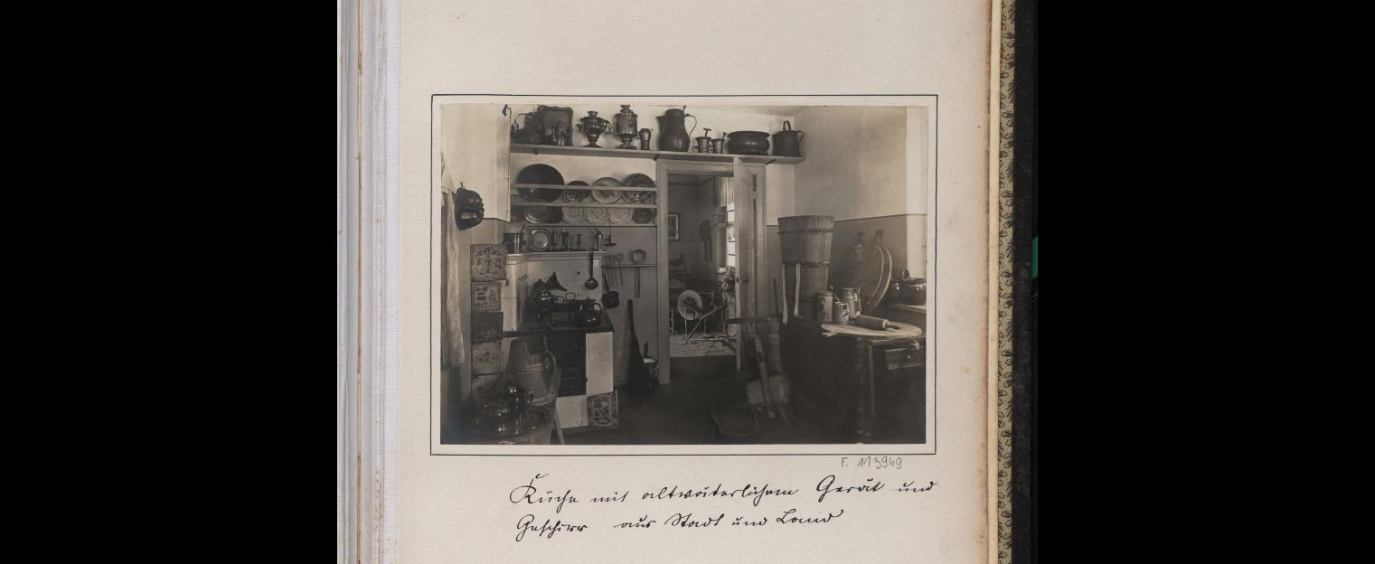 1916 kuchnia w Malborku na Zamku Krzyżackim