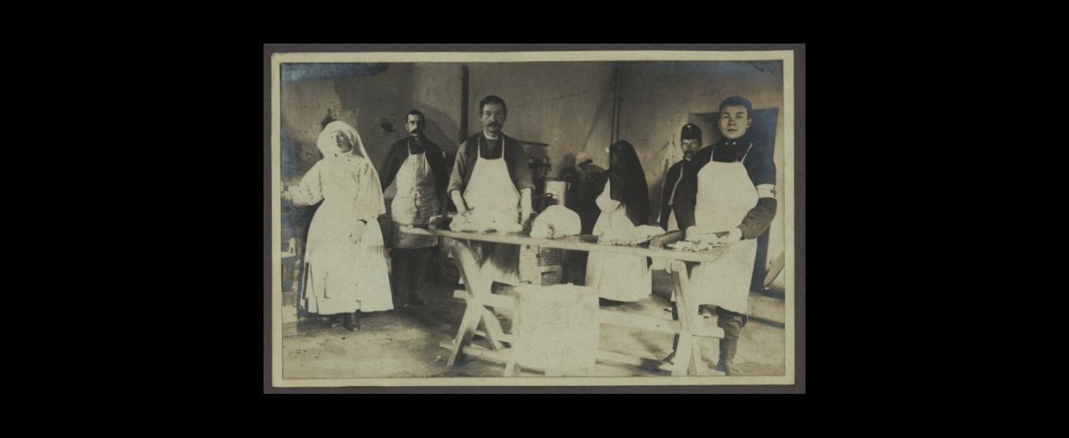 Cesarski i Królewski Szpital Choleryczny Lagiewniki  KUCHNIA 1914-1915
