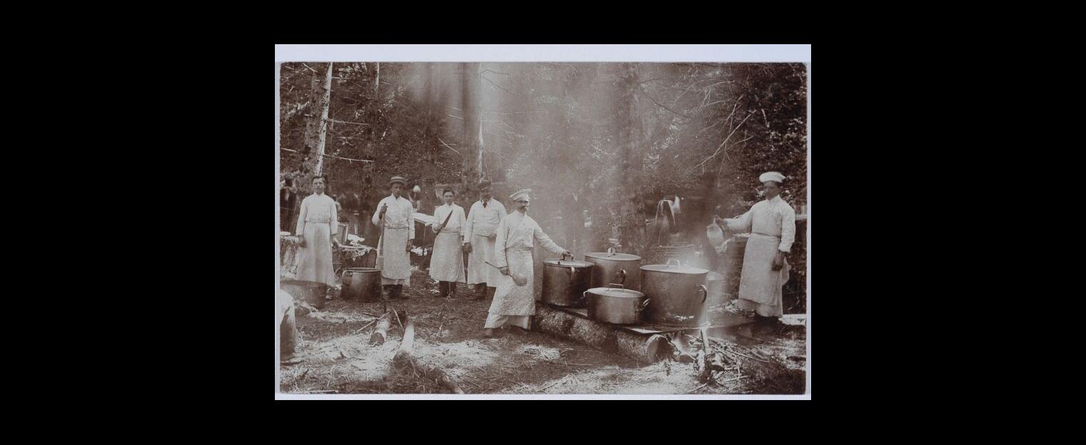 Chyrów 1910 konwikt na majówce