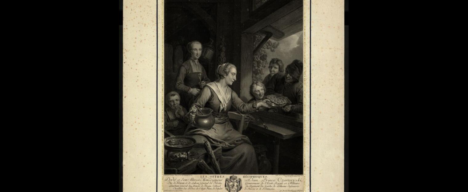 Kuchnia -1771 rok Niemcy