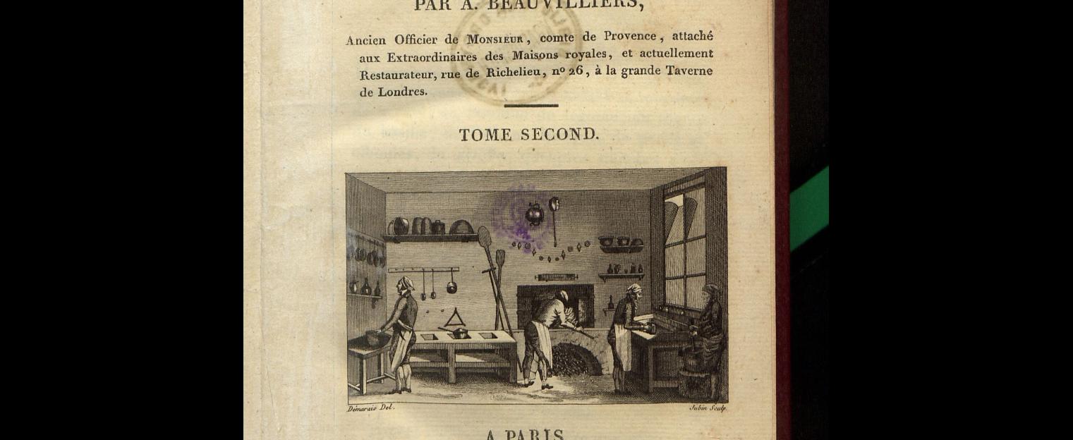 Kuchnia francuska paryz 1814 rok