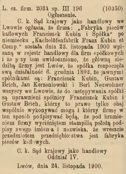 gaz. lw. 1900