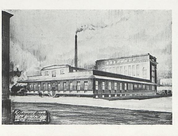 Budowa piekarni w warszawie 1927 rok+++