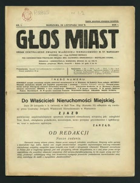 1932 Mazowiecka _GŁOS MIAST-1_462x600