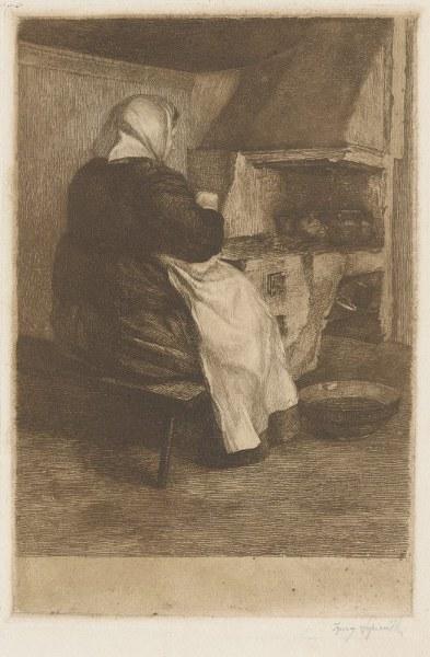 Przy piecu  Ignacy Łopieński  1912-13_393x600