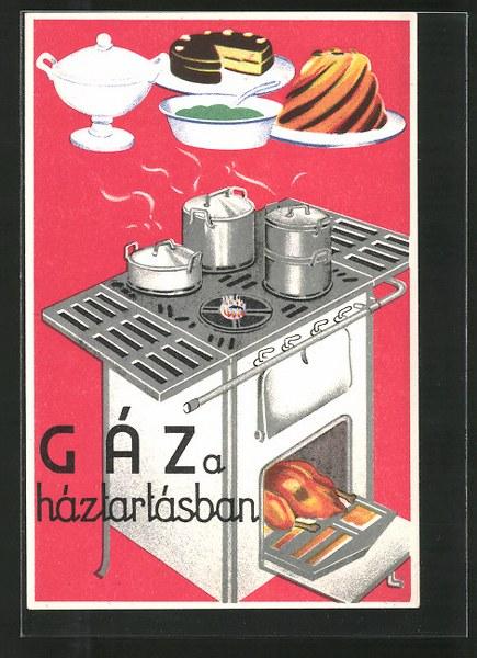 AK-Gaz-a-haztarzasban-Reklame-fuer-einen-Gasherd_435x600