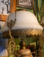 Lampa naftowa Wisząca B