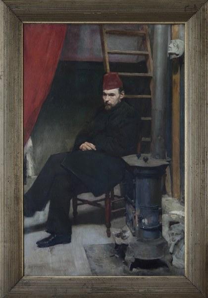 Portret rzeżbiarza Konstantego Laszczki-mal.Józef Mehoffer===_420x600