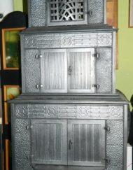 Piece żeliwne odrestaurowane z XIX / XX wieku